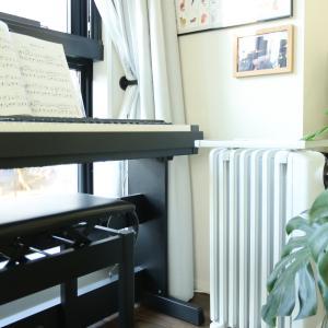 エアコンの暖房で乾燥する!加湿器の使用頻度を下げてくれた、おだやかな暖房器具