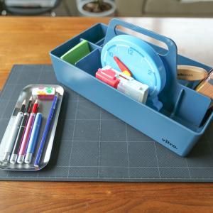 小学校低学年のリビング学習をスムーズにしてくれる文具、収納用品、お掃除アイテム