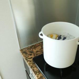 ホウロウ鍋で酸素系漂白剤を使って煮沸消毒するときに知っておきたいリスク(涙)