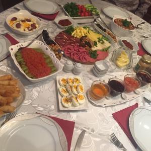 トルコ風の朝食