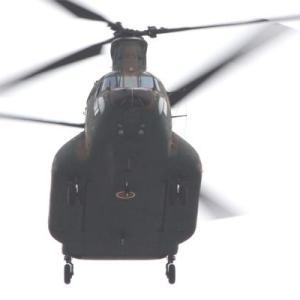 陸上自衛隊八尾駐屯地 キャリヤー3機