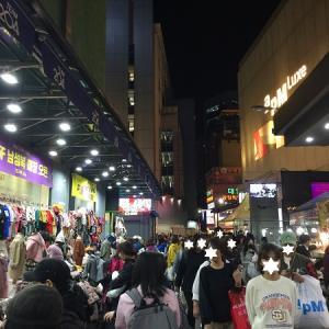 深夜のお買い物はお腹が減るーー( ̄▽ ̄) at 卸売り市場食堂街