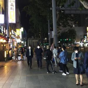 お酒を飲めない人と行く夜の広蔵市場(≧∇≦)