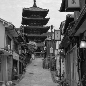 産寧坂で京の写真