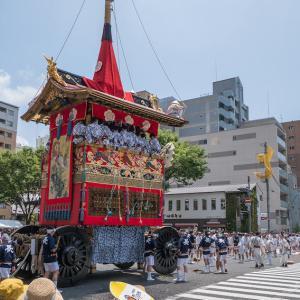 令和元年・祇園祭(前祭)山鉾巡行