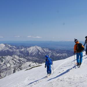 2019.05.12 狩場山 大斜面スキー
