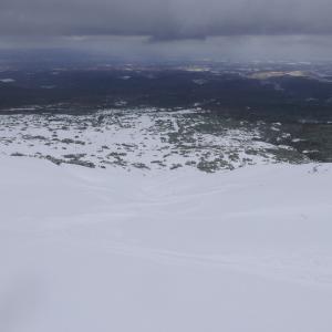 2020.11  初滑りは十勝岳望岳台