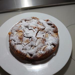 ハチミツりんごケーキ