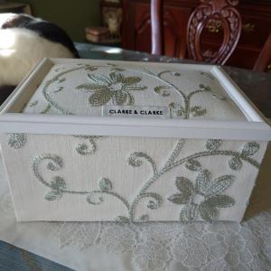 カルトナージュ 蓋付きボックス