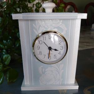 カルトナージュ 置き時計