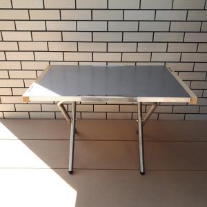【おすすめのもの】子どもデスクにアウトドア用テーブルはいかがでしょう