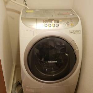 愛知県一宮市 パナソニック製ドラム式洗濯機分解内部クリーニング