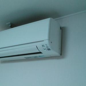 名古屋市西区庄内通 三菱電機製エアコン暖房効かない 不具合修理