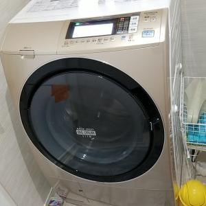 名古屋市南区笠寺 日立製ドラム式洗濯機分解クリーニング作業