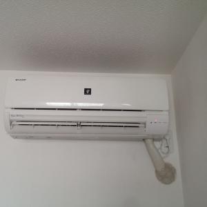 愛知県愛西市大井 シャープ製エアコン 電源が入らない不具合修理