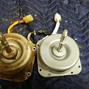 名古屋市西区浄心 レンジフード型キッチン換気扇 回転騒音不良修理