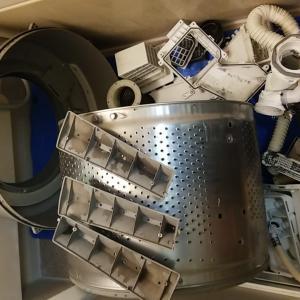 愛知県知立市 日立製ドラム式洗濯機分解洗浄及び乾燥並びに排水経路清掃をホームページ作業事例にUP