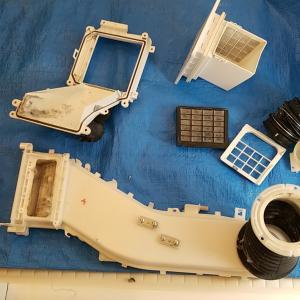 名古屋市熱田区三本松 日立製ドラム式洗濯乾燥機 乾燥循環系統のみ清掃をアップしました。