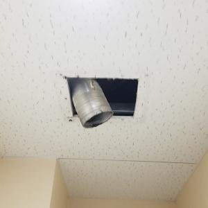 名古屋市中川区富田町 トイレ用ダクト換気扇 交換工事作業をアップしました。