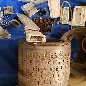 愛知県東海市名和町 日立製ドラム式洗濯乾燥機分解クリーニングを作業事例にアップしました。