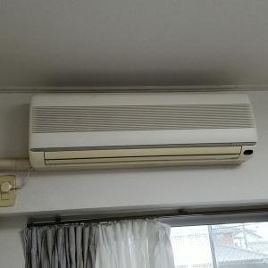 名古屋市西区栄生 先方購入エアコン取替工事作業を作業事例にUPしました。