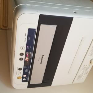 名古屋市中川区吉津 パナソニック製縦型全自動洗濯機 エラーH51不具合修理