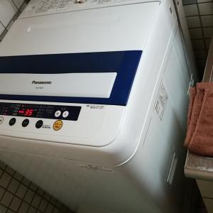 愛知県弥富市 パナソニック製洗濯機 分解クリーニング作業を作業事例にUP