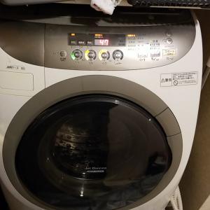 愛知県岩倉市 パナソニック製ドラム式洗濯乾燥機分解クリーニングを作業事例にUP