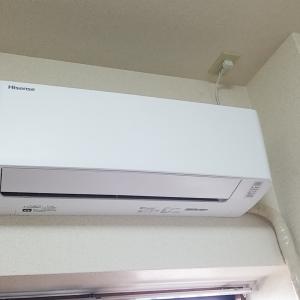 名古屋市東区葵 ハイセンス製エアコン 暖房不可修理を作業事例にUP
