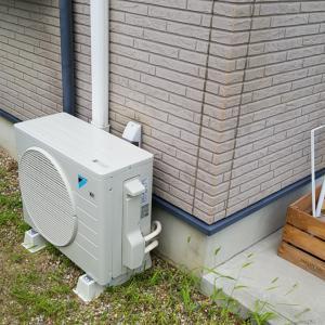 名古屋市中村区 通販購入エアコン新規取付工事を作業事例にUP