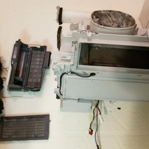 愛知県北名古屋市 パナソニック製ドラム洗濯乾燥機 乾燥循環経路清掃を作業事例にUP
