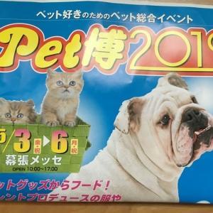 2019令和のペット博へGO!!