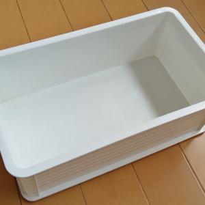 浅底水耕栽培容器 改良 ―容器の洗いが不要に&落ち着いた雰囲気に②―