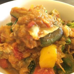 【栄養満点】アンコールワット旅行前に栄養補給はいかが?1日分の野菜が食べれるカレー!@Basecamp Siemreap