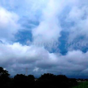 妖しい空模様。。。
