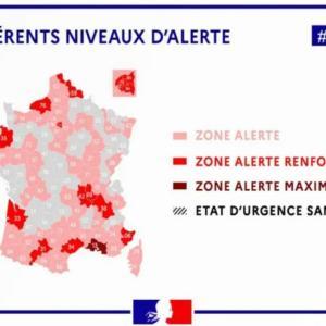 健康省より発表あり、マルセイユは経済的ロックダウンへ><