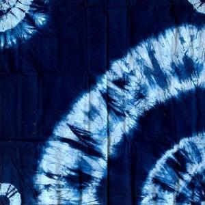 手絞り 本藍染め 風呂敷