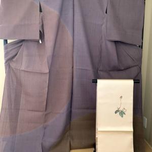 いつになるのか楽しいおでかけに向けて紬の訪問着と洒落袋帯のコーディネイト提案