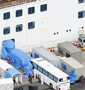 下船女性が感染、肺炎で帰宅に クルーズ船、公共交通