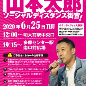 山本太郎  東京都知事候補  東京都8つの緊急政策