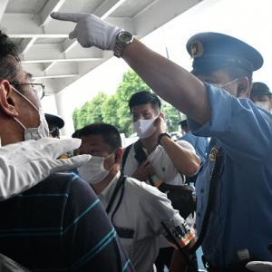 オリンピック反対デモは 警察の弾圧で潰された