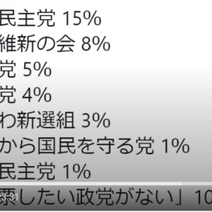 れいわ新選組の支持率3%の意味。枝野幸男氏の「消費税減税」は本気なのか?