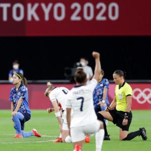 選手が声上げる東京五輪 差別、ジェンダー 揺らぐIOCの権威