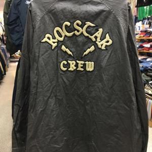 ROCSTAR HECTIC ヘクティク CREW ブルゾン ジャンパー コーティング 黒 XL