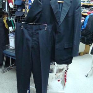 KENT ケント VAN ヴァン セットアップスーツ 濃紺 90-79-170 3ボタン 背抜き