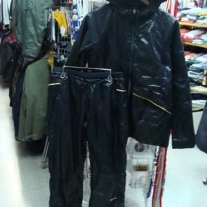 NIKE ナイキ レディース ナイロン 中綿ジャケット セットアップ上下 黒 M