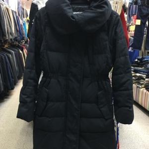 プラステ PLST セオリー ロング コート ダウンコート 黒 レディース  サイズ2