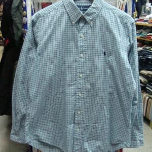 Polo Ralph Lauren ポロラルフローレン 長袖BDシャツ (L・16-1/2)