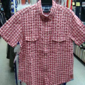 TOMMY HILFIGER トミーヒルフィガー 半袖BDシャツ (XL)