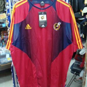 【未使用品】 王立スペインサッカー連盟 半袖ゲームシャツ (4XO) adidas製